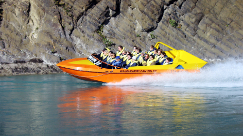 Waimakariri Gorge Jet Boat Ride by Canterbury Leisure Tours