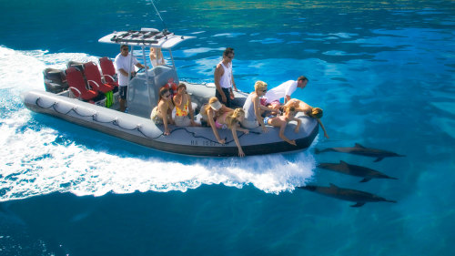 Na Pali Day Trip by Boat with Snorkeling, Hiking & Beach Picnic