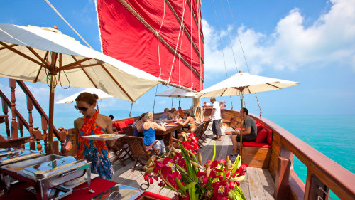 Red Baron Junk Sailing Tour with Transfers by Tour East Thailand