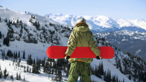 Heavenly Snowboard Rental Package