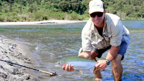 Taupo Fly Fishing Half-Day Experience by Chris Jolly Outdoors