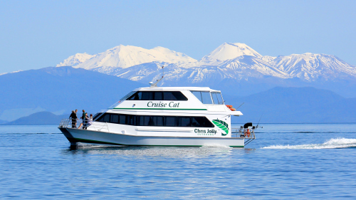 Lake Taupo Brunch Cruise by Chris Jolly Outdoors