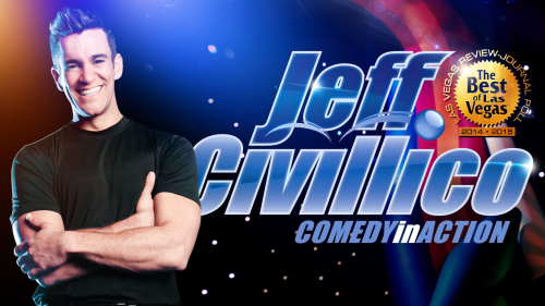 Jeff Civillico: Comedy in Action at LINQ Hotel & Casino