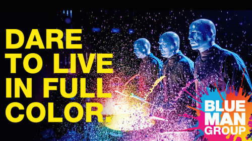 Blue Man Group at the Monte Carlo Resort & Casino