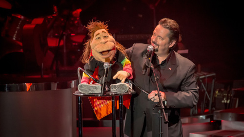 Terry Fator at the Mirage Hotel & Casino