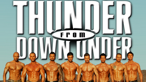 Thunder from Down Under at the Excalibur Hotel & Casino