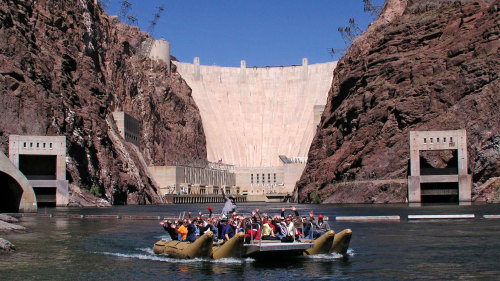 Pink Jeep: Colorado River & Hoover Dam Jeep Tour
