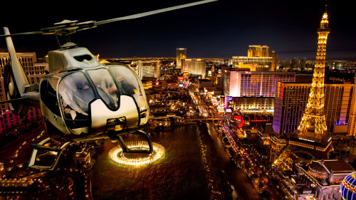 Romantic Evening for Two: Helicopter Ride & Dinner