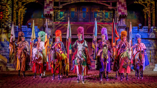 Tournament of Kings Dinner & Show at the Excalibur Hotel