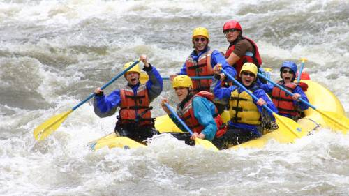 Clear Creek Whitewater Rafting: Beginner