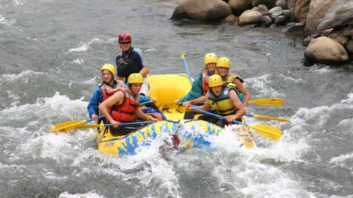 Clear Creek Whitewater Rafting: Intermediate