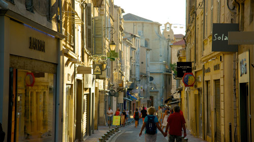 Self-Guided City Sightseeing & Guided Provence Tour