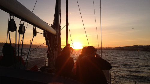 Private Tagus Sunset Sailing Cruise