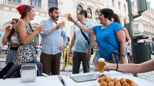 Food & Wine Small-Group Walking Tour by Inside Lisbon