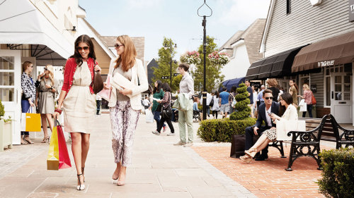 Chic Outlet Shopping® Experience at Bicester Village