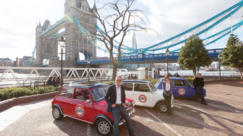 Classic Mini Cooper Private Sightseeing Tour
