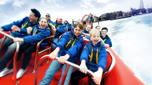 Speedboat Sightseeing Tour of the River Thames