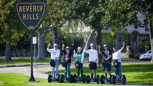 Private Beverly Hills Segway Tour by Another Side Tours