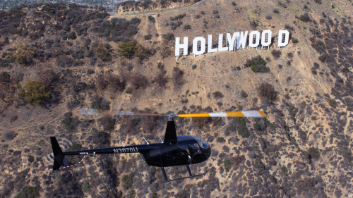 Hollywood Sign Helicopter Tour by Orbic Air
