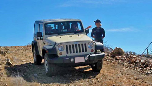 Todos Santos Private Jeep Tour