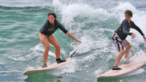 Cerritos Beach Surfing Lessons