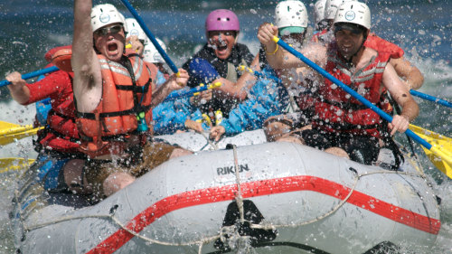 Thompson River Rafting with Class III & Class IV Rapids