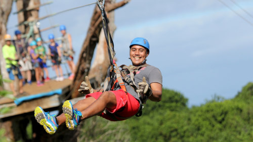 North Shore Zipline Adventure