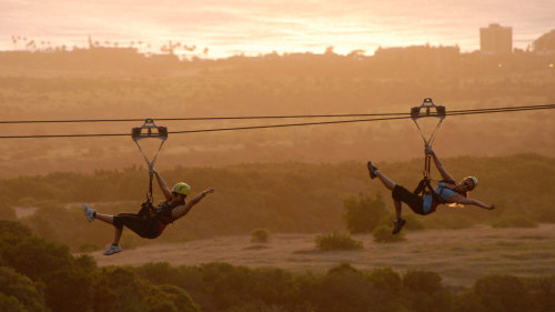 Sunset Zipline