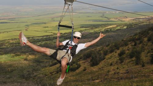 8-Line Zipline Adventure in the West Maui Mountains