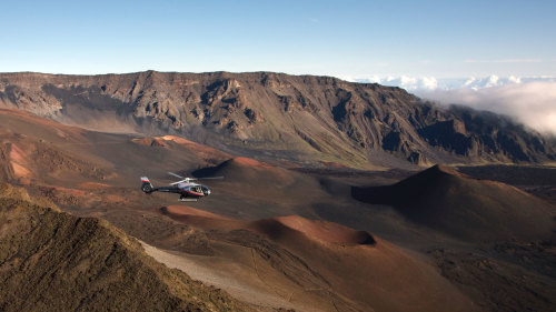 Haleakala National Park, Crater & Hana Rainforest Helicopter Tour
