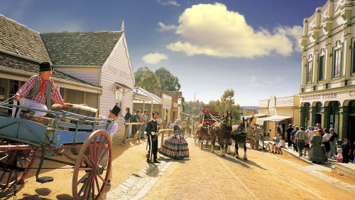 Sovereign Hill & Ballarat Tour