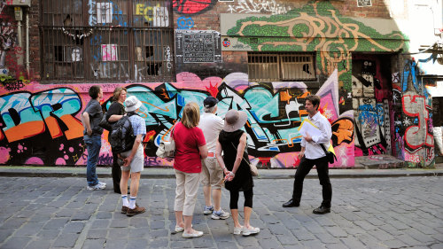 Laneways of Melbourne Walking Tour