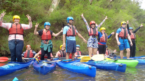 Whitewater Kayaking Half-Day Tour by Kaykaze Adventure Experience