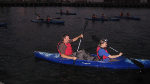 Melbourne City Lights Paddle Tour by Kaykaze Adventure Experience