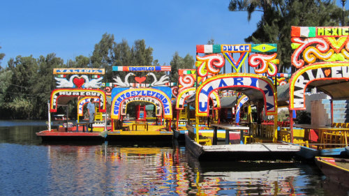 Xochimilco Aztec Canals & National University of Mexico by Gray Line Mexico City