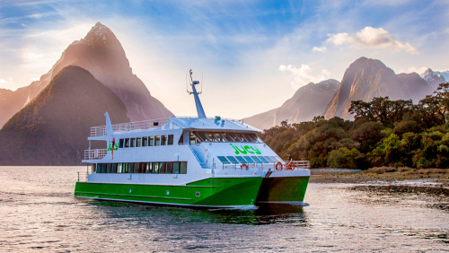 Milford Sound Cruise by JUCY Cruise