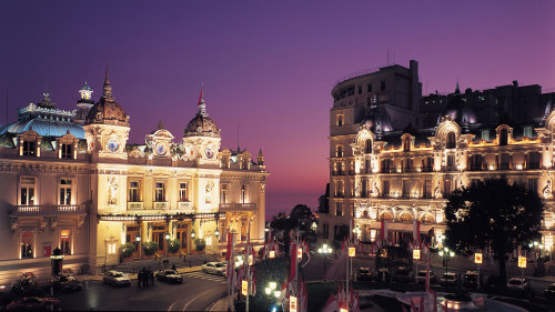 Small-Group Night Tour of Monaco with Dinner