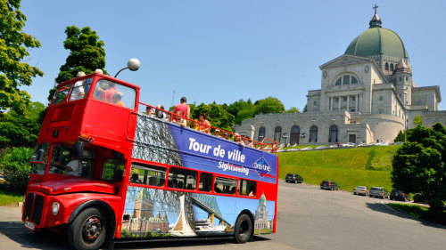 Gray Line Montreal: Hop-On Hop-Off Double-Decker Bus Tour
