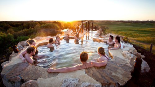 Mornington Peninsula Tour with Hot Springs & Winetasting by Gray Line