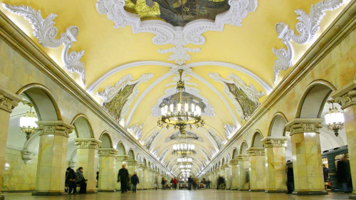 Moscow Metro Tour by GoingRussia