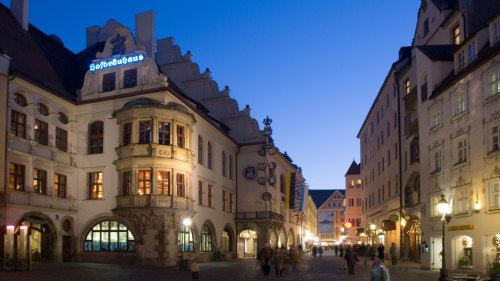 Munich by Night: City Tour with Dinner & Nightclub Admission