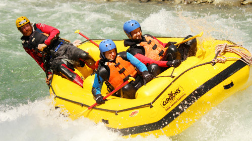 Whitewater Rafting & Canyoning Experience by Canyons Ltd