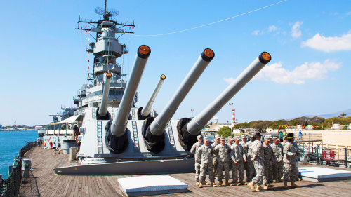 Battleships of World War II Tour from Maui