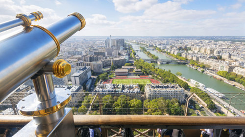 Half-Day Sightseeing Tour with Skip-the-Line Eiffel Tower