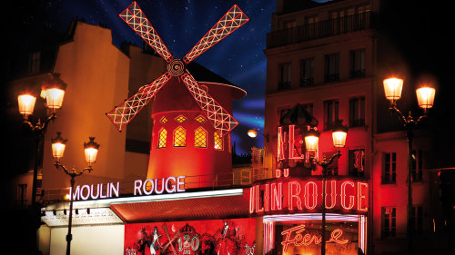 Moulin Rouge Show with Roundtrip Hotel Transportation