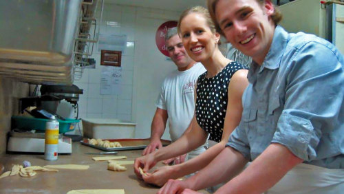 French Baguette & Croissant Making Class