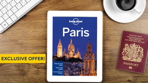 Get a Lonely Planet Paris City Guide eBook with all Paris 'Things to Do'