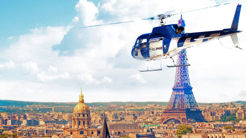 Helicopter Tour over Paris & the Chateau de Versailles by Helipass