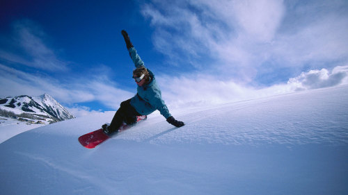 Park City & Deer Valley Snowboard Rental Package with Delivery