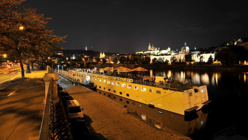 Dinner Cruise on the Vltava River by Gray Line